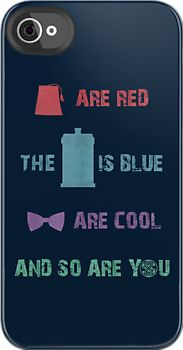 Doctor Who iPhone case (if I get an iPhone!) xD