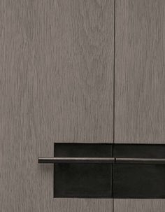 More contemporary door with really nice handle detail