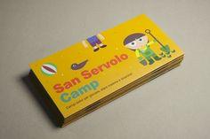 San Servolo Camp 2015, leaflet — hstudio