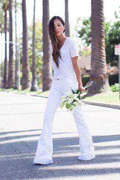 11 New Ways to Wear Your Favorite White Jeans