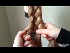 5 strand braid (This is the video that taught me for my K. It is way easier than all the other versions I have seen. -rr)