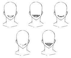 ゲス顔の描き方_歯と舌