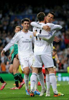 Morata, Bale & Cristiano.