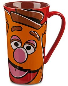 If you love Fozzie you will love drinking your coffee with him every day. He's on this Disney Store Most Wanted movie coffee mug. Disney Coffee Mugs, Disney Mugs, Walt Disney, Disney Store Gifts, Muppets Disney, Wanted Movie, Muppets Most Wanted, Movie Gift, Disney Kitchen