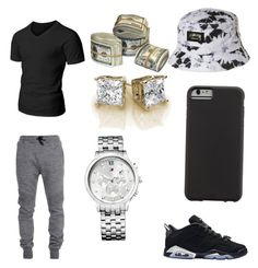 """BOI"" by joliah-barnes-white on Polyvore featuring Doublju, Balmain, Retrò, Case-Mate, Stussy, Tommy Hilfiger, men's fashion and menswear"