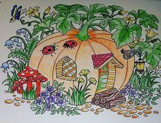 ColorIt Blissful Scenes Colorist: Michelle Byrne #adultcoloring #coloringforadults #adultcoloringpages #scenes
