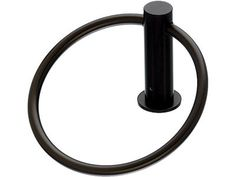 View the Top Knobs HOP5BLK Flat Black Hopewell Bath Towel Ring at Build.com.