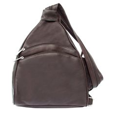 Piel Leather Two-Pocket Sling >>> You can get more details here : Travel Backpack
