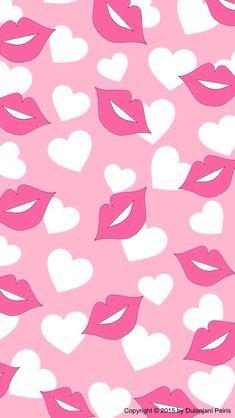 Pin do(a) karoll morena em varius картинки e розовый Lip Wallpaper, Cute Wallpaper For Phone, Pink Wallpaper Iphone, Pink Iphone, Cute Wallpaper Backgrounds, Cellphone Wallpaper, Pattern Wallpaper, Cute Wallpapers, Valentine Wallpaper