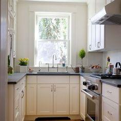 tiny u shaped kitchen remodel -