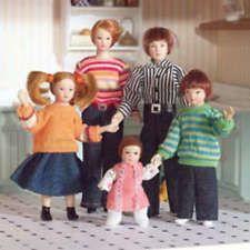 Dolls House 6537 Famille 5 Poupées Polyresin 1:12 pour la maison de neuf! #