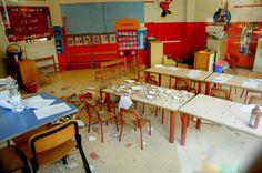 Sesto San Giovanni, cade l'intonaco in una scuola materna: sette bambini feriti