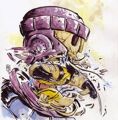 regram @skottieyoung Wolverine #throwbackart #fromthearchives #marvel #xmen