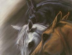 horse eye paintings - Google Search