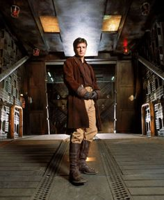because seriously...if you're gonna dream of going into space, a space cowboy is really the only captain for the job!  (firefly nathan fillion, by joss whedon)