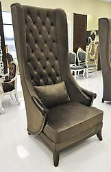 "In the century, chair transform in wing back chair. This wing back chair comes at the affordable price. It is an easy or club chair with ""wings"". Wing chair has a purpose of to enclose the head a Living Room Chairs, Living Room Furniture, Home Furniture, Elegant Living Room, Elegant Home Decor, Mexican Chairs, Furniture Depot, High Back Dining Chairs, Queen"