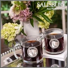 Get your table ready with some elegant pieces from the Salisbury Infinity collection!
