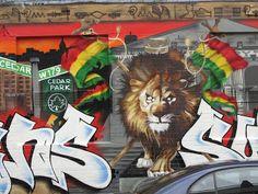 El Mundo Según Coco (Edición Australiana): Street Art en Melbourne (el Arca de Noé)