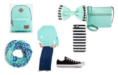 First day of school by apostolicdaughter on Polyvore featuring Kosher Casual, Converse, Kate Spade and Dickies