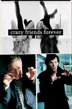 """We always called ourselves """"Holmes"""" and """"Watson""""... And now they've gone and made a meme for it... ;)"""