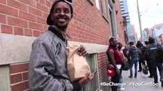 Feeding The Homeless - Give Back Project