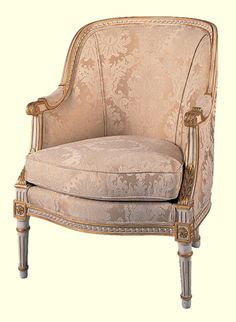 Loius XVI Bergere Chair