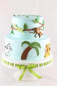Tortenliebe .... mein süßes Hobby: Dschungel Torte