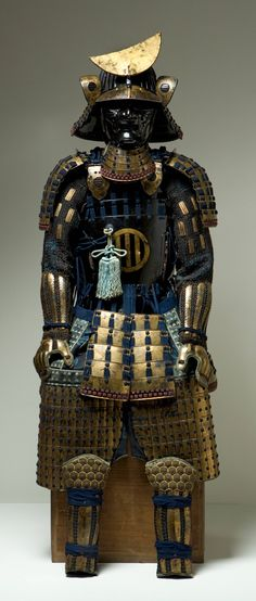 """fashionsfromhistory: """" Suit of Armor 1700-1799 Edo Period Japan David Owsley Museum of Art """""""