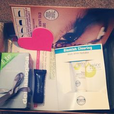February Birchbox from @DbeYOUtiful89  Check out these products and more in the Birchbox Shop! www.birchbox.com