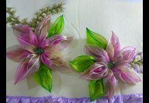 Kurdeleden Büyük Çiçek Yapımı - Hobi Dünyası Takı & Aksesuar - gül yapım tekniği kurdeleden çiçek yapılışı organze kurdeleden çiçek yapımı organze kurdeleden gül yapımı videosu 2