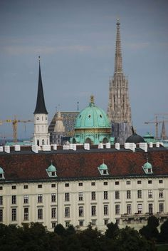 Vienna, Imperial Palace, St Michael, St Stephens Cathedral