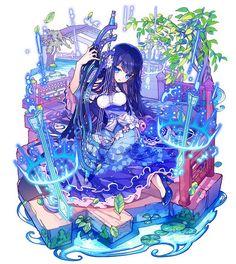 【メルスト】10月新ユニット追加フェス開催! 斬撃ユニット「ユージア」をゲットしよう | AppBank – iPhone, スマホのたのしみを見つけよう Anime Chibi, Lolis Anime, Manga Kawaii, Kawaii Anime Girl, Girls Anime, Anime Art Girl, Anime Fantasy, Fantasy Art, Art Anime Fille