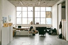 Itamar Gilboa's studio in Amsterdam / photo by Jordi Huisman