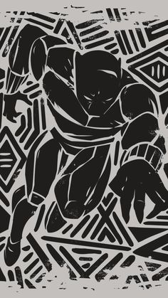 Black And White Posters, Black And White Painting, Black Art, Black White, Black Panther Art, Black Panther Marvel, Marvel Art, Marvel Heroes, Jack Kirby