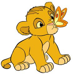 disney butterfly | More Lion King Clip Art