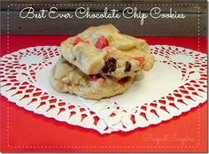 Best Ever Chocolate Chip Cookies - Project Inspire