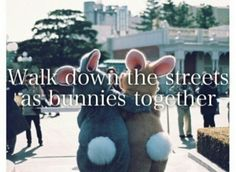 #bucketlist #bestfriend #rabbits #bunnies