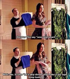 Dorota and Blair • Gossip Girl