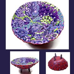 Florida's Sherri Kellberg (BeadazzleMe) shows us her fun bowls and teapots 1653821_10152952018971544_535957397822890783_n.jpg (960×960)