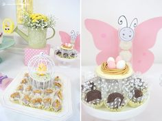 The butterfly and the sweets. Lima Limão - festas com charme