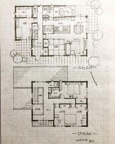 "546 Likes, 10 Comments - 石川 元洋/一級建築士、インテリアコーディネーター (@motohiro_ishikawa) on Instagram: ""・ 42坪の5人家族の家2…"""