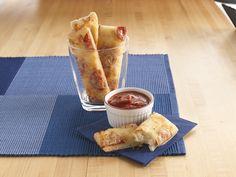πιτσάκια σε ροδέλες #Pillsbury #pizza #breakfast