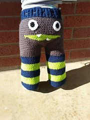 Ravelry: Monster Pants pattern by Serena Russell