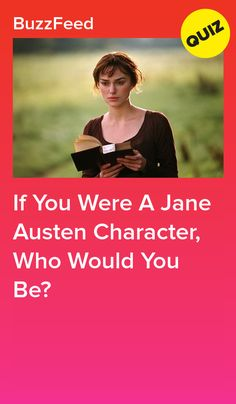 Are you more of an Elizabeth Bennet or a Dashwood sister? Emma Jane Austen, Jane Austen Movies, Jane Austen Quotes, Pride And Prejudice Characters, Pride And Prejudice 2005, Buzzfeed, Kate Winslet Images, Bennet Sisters, Disney Quiz