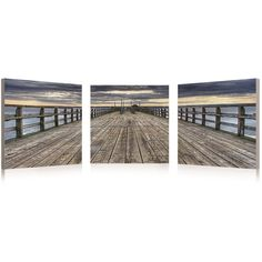 Dock 3 Piece Framed Photographic Print Set Reviews ($160) ❤ liked on Polyvore featuring home, home decor, wall art, three piece wall art, framed wall art, photography wall art, photographic wall art and set of 3 wall art