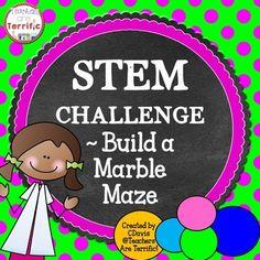 STEM Engineering Challenge: Build a Marble Maze!