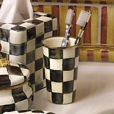 Courtly Check Enamelware