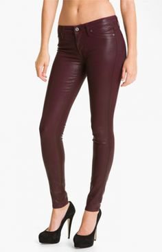 Rich & Skinny Faux Leather Jeans