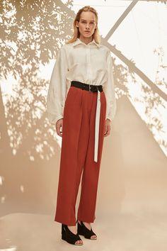 Derek Lam Spring 2017 Ready-to-Wear Fashion Show - Kitti Mudele