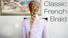 Chic and classic French Braid by Fancy Hair. See the video tutorial here: https://www.youtube.com/watch?v=tcfEKgeKyrw  For more info on Fancy Hair, visit: http://www.GetFancyHair.com #hairstylesforwomen #classic #braid #braided  #hairstyle #hairstyles #long #thick #beautiful #style #beauty #fashion #celebrity #hollywood #glamorous #luxury #wavy #waves #curly #curls #straight #elegant #bride #bridal #wedding #inspiration #ideas #engaged #engagement  #diy #prom #fancy #hair #clipin #extensions